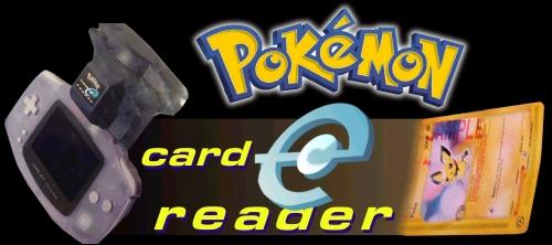 Pokemon Card E Reader